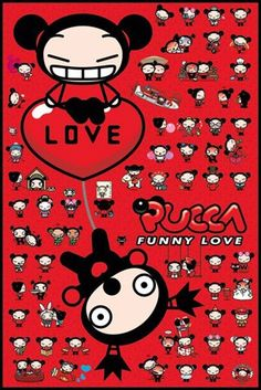 Funny Love Collage - Pucca