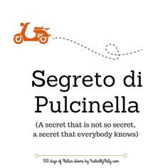 Day 51 of 100 Days of Italian Idioms by instantlyitaly.com