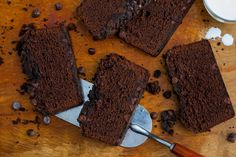 In this stunning dessert, a moist and soft chocolate poundcake is topped on two sides — bottom and top — with crunchy, slightly salty streusel flecked with chocolate chips The combination of cocoa powder and melted dark chocolate gives this cake a particularly rich flavor.