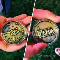 Special Medal Given To Those Who Play Zelda: Breath Of The Wild at E3