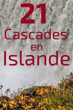 21 plus belles Cascades en Islande - Photos + Videos (Wow ! Have A Nice Trip, Island Tour, Destination Voyage, Desert Island, Iceland Travel, Far Away, Digital Nomad, Cascades, Travel Inspiration