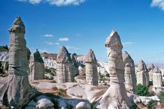 28 Photos From Most Unusual Landscapes Around The World,National Park Goreme, Turkey