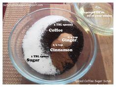 Spiced Coffee Sugar Scrub Recipe