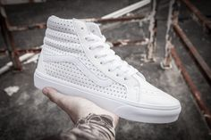 VANS Lynx with the Korean version of the hollow star white high model FS023 35-4415 #Vans
