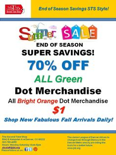 Summer Clearance 70% Off September 2014 Great $1 Clearance and new fall arriving daily!