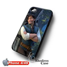 iOffer: Tangled Flynn Rider Rapunzel iPhone 4 4S Case for sale on Wanelo