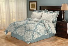74.99   Sanders Home Collection Sonota Reversible 8-Piece King Bed in a Bag Bedding Set, Glacier by Sanders Home, http://www.amazon.com/dp/B005J9GDGW/ref=cm_sw_r_pi_dp_.Asvqb0MNPMH3