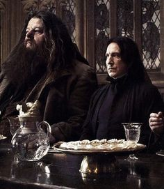 Snape and Hangrid