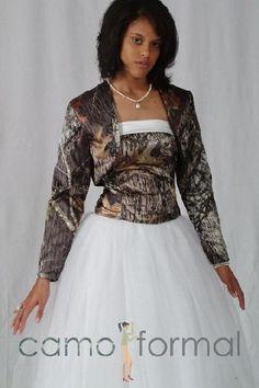 mossy oak camo prom dresses