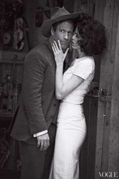 photographed by Peter Lindbergh and styled by the amazing Grace Coddington for Vogue US
