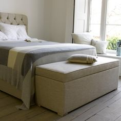 Handmade Upholstered Storage Box   Eton Mess   Loaf