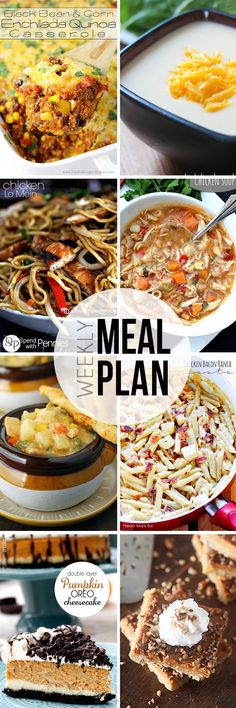 Easy Meal Plan Sunday #14.