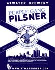 Atwater Brewery Purple Gang Pilsner