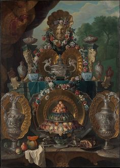 Alexandre François Desportes: Still Life with Silver, c. late Metropolitan Museum of Art: Trained as a painter of animals and favored by both Louis XIV and Louis XV, Desportes achieved fame not. Louis Xiv, Fine Art Prints, Framed Prints, Canvas Prints, Animal Painter, European Paintings, Art Reproductions, Metropolitan Museum, 16th Century