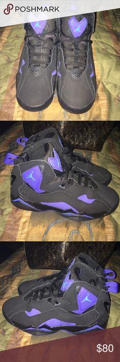 Plain Black Jordan Shoes Size  Y