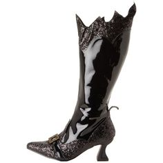 Funtasma Women's 'Witch-101' Pointy Toe Knee High Witch Boots   Overstock.com  Too funny