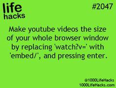 Life Hack #2047