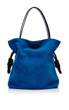 Flamenco Knot Bag In Turquoise by Loewe for Preorder on Moda Operandi