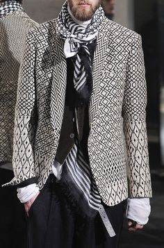 Haider Ackermann F/W 2014/15...For some reason, I really like this look.