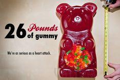 26 Pound Party Gummy Bear - - think kids birthday, willy wonka party, wedding candy bar!