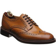 Loake Chester (Rubber) is a classic country brogue from the 1880 collection, on a Dainite rubber sole.
