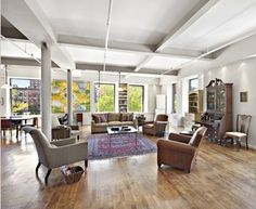 Right behind the Gansevort Hotel sits this amazing loft just waiting for someone to call home!