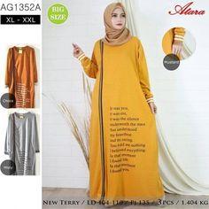 Baju Gamis Kaos Murah AG1352A