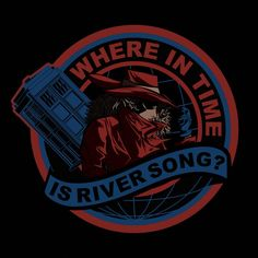 Carmen Sandiego and Doctor Who mash-up. #doctorwho #carmensandiego #riversong :: love this mashup!!!