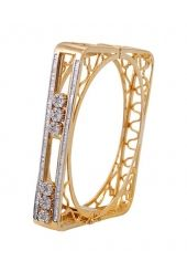 An Imitated Stone Studded Bracelet