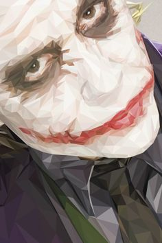 The Joker by Simon Delart (The Dark Knight 2008)