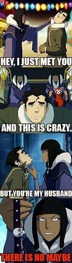 Avatar the legend of Korra funny
