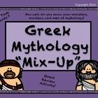 $3.00 Your students will have fun and learn at the same time using these fun Mythology Mix Up Task Cards.    Each of the 64 cards contains a clue about a...