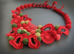Алиса Вербицкая Crochet Cord, Crochet Bracelet, Freeform Crochet, Crochet Earrings, Crochet Flower Patterns, Crochet Designs, Crochet Flowers, Textiles, Textile Jewelry