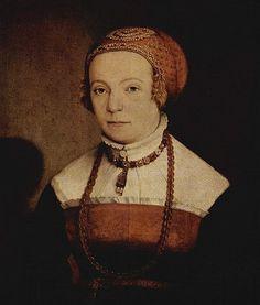 1545 Christoph Amurger Portrait of a Lady