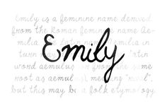 FREE this week on Creative Market: Emily Font by Noe Araujo Download link: http://crtv.mk/i09P0