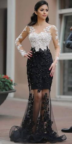 Fantastic Tulle Bateau Neckline Mermaid Formal Dresses With Beaded Lace Appliques