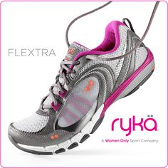 Ready. Set. Flex, StyleHunters! Check out Ryka the athletic shoes only for women! #StyleHuntersLoveRykä