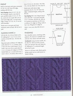 View album on Yandex. Aran Knitting Patterns, 9 And 10, Front Row, Chart, Sleeves, Sweaters, Cable, Projects, Fashion