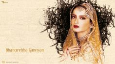 "Theme : Rekha,The Gorgeous ""DIVA"",Designed By : Sanchari Bhattacharya"