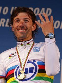 Fabian Cancellara -- wins at the Tour de France. A likeable fair biker!   Please follow us @ http://www.pinterest.com/wocycling