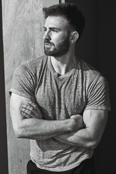Chris Evans | There's just something about him, something beyond the looks <3<3<3 -B.R.