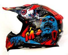Masei Motocross Helmets for KTM & Kawasaki & Yamaha Dirt Bike Helmets, Dirt Bike Gear, Motorcycle Helmets, Bicycle Helmet, Dirt Bikes, Frankenstein, Motocross Helmets, Helmet Accessories, Helmet Design