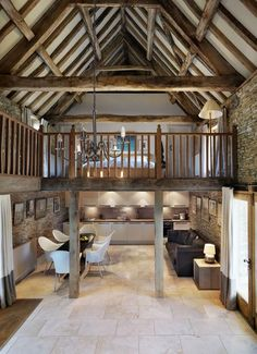 The Tall Barn at Ivy Farm, Wiltshire, UK, on the market with Strutt & Parker.