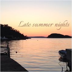 #late #summer #nights #beach #beautiful