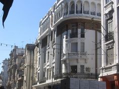 Casablanca Morocco, Colonial Architecture, North Africa, Multi Story Building, Street View, World, Amazing, Middle, Google Search