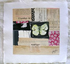 Dolce Shop: French Paper Series Collages