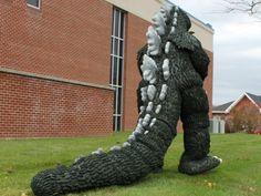"Homemade GODZILLA costume  (circa ""Godzilla vs Megalon"")"