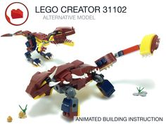Lego Creator, The Creator, Jeep Wheels, Lego Jurassic World, Lego Models, Lego Moc, Lego City, Bricks, Dinosaurs