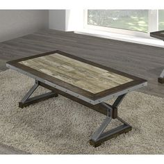 Shop Brassex Venetian Coffee Table at Lowe's Canada. Find our selection of coffee tables at the lowest price guaranteed with price match. Coffee Table Furniture, Metal Furniture, Cheap Furniture, Industrial Furniture, Furniture Ideas, Stylish Coffee Table, Cool Coffee Tables, Coffee Table Walmart, Walnut Coffee Table