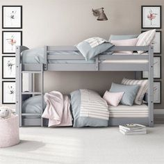 Greyleigh Bellmead Twin Bunk Bed Bed Frame Color